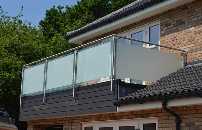glass balustrades glass balcony in norfolk