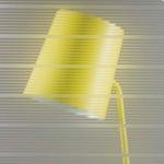 Linear glass swatch