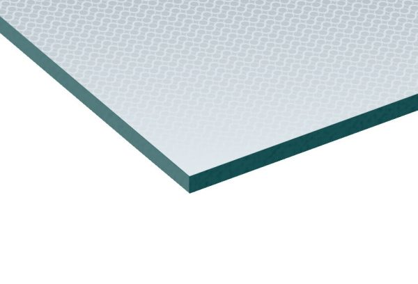 4mm Oriel Patterned Toughened Safety Glass