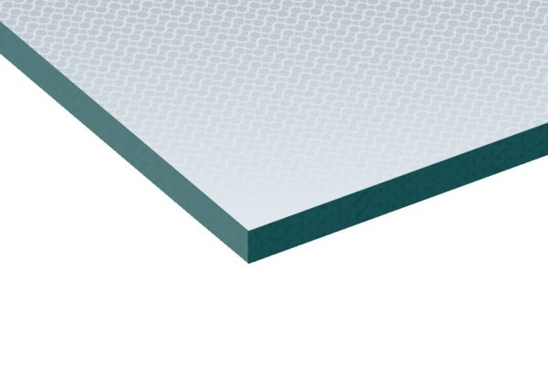 6.8mm Stippolyte Patterned Laminated Glass