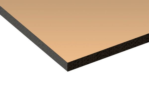 6mm Bronze Tinted Toughened Safety Glass